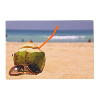 Coconut Dream, Laminated Placemats Laminated Place Mat