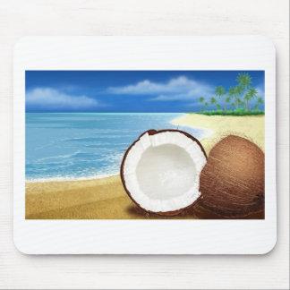 Coconut Getaway Mouse Mat