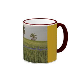 Coconut Lagoon Ringer Mug