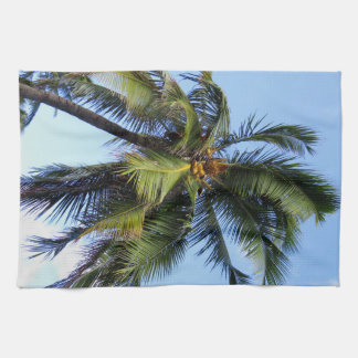 Coconut Palm Tea Towel