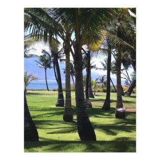 Coconut Palms Nui Hawaii 21.5 Cm X 28 Cm Flyer