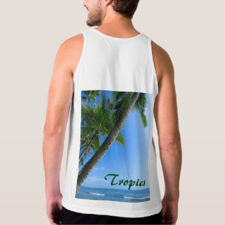 Coconut Palms Tank Top