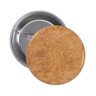 Coconut texture 6 cm round badge