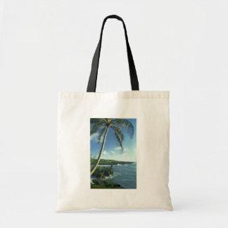 Coconut Tree Alone Among Smaller Plants Bag