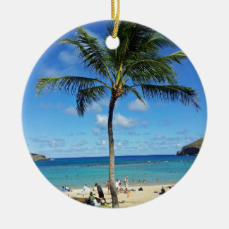 Coconut Trees Christmas Ornament