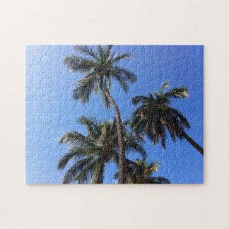Coconut Trees in Kihei, Maui, Hawaii Jigsaw Puzzle