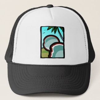 Coconuts and Palms Trucker Hat