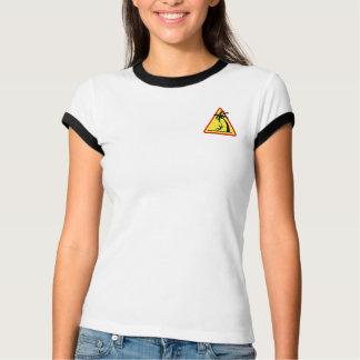 Coconuts Kill 2 Logo - Women's Bella Ringer Shirt