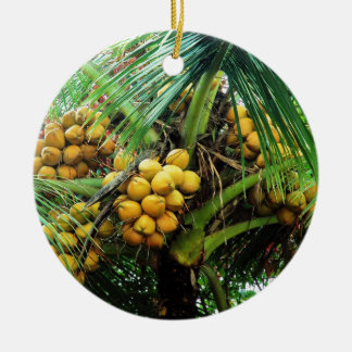 coconuts on the tree christmas ornament