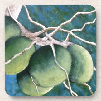 Coconuts On The Tree Drink Coaster