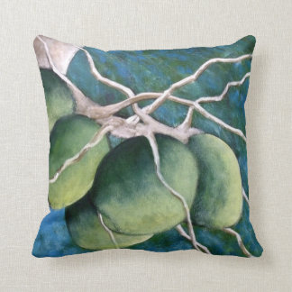 Coconuts On The Tree Throw Cushions
