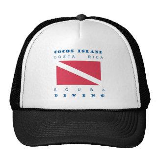 Cocos Island Costa Rica Mesh Hats