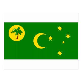 Cocos Island Flag Postcard