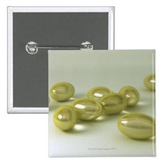 Cod Liver Oil Capsules 15 Cm Square Badge