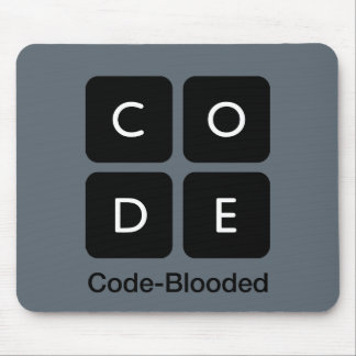 Code-Blooded Mouse Mat