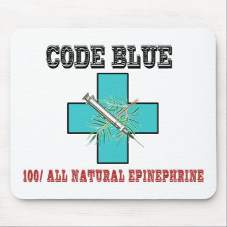 Code Blue 100 All Natural Epinephrine Mousepads