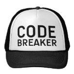 CODE BREAKER slogan hat