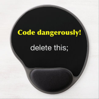 Code Dangerously Gel Mouse Pad