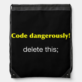 Code Dangerously! Rucksacks