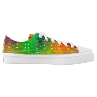 Code Deco Rainbow Printed Shoes
