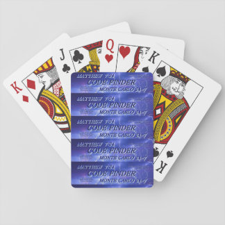 Code Finder : Playing cards