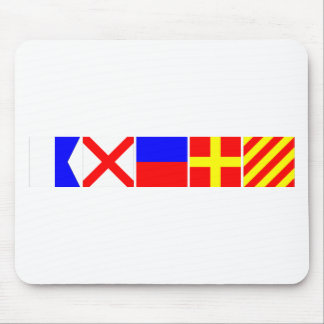 Code Flag Avery Mouse Pad