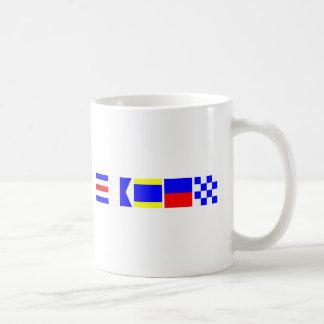 Code Flag Caden Coffee Mugs
