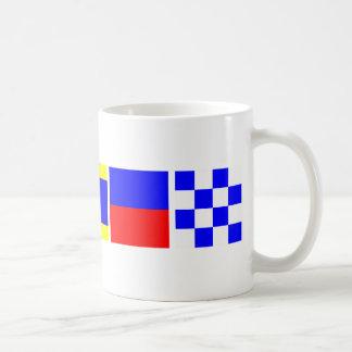 Code Flag Caden Classic White Coffee Mug