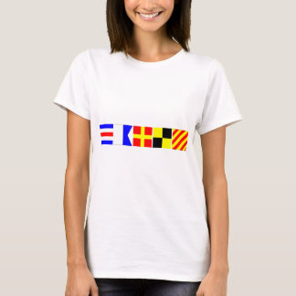 Code Flag Carly T-Shirt