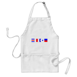Code Flag Chase Aprons