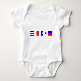 Code Flag Chase Infant Creeper