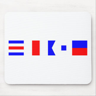 Code Flag Chase Mouse Pad