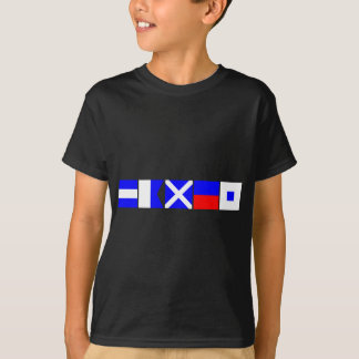 Code Flag James T-Shirt