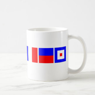 Code Flag Matthew Coffee Mug