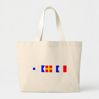 Code Flag Sarah Jumbo Tote Bag