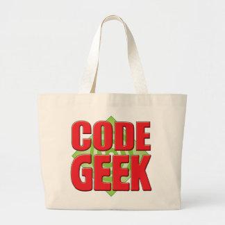 Code Geek v2 Tote Bags