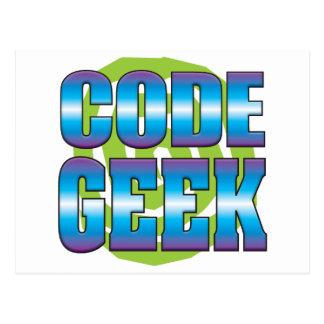 Code Geek v3 Postcard
