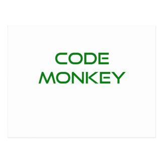 Code Monkey Postcard