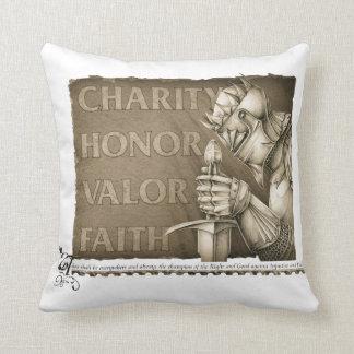 Code of Chivalry Cushion