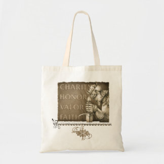 Code of Chivalry Tote Bag