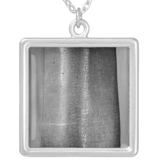 Code of Hammurabi, detail of column Silver Plated Necklace