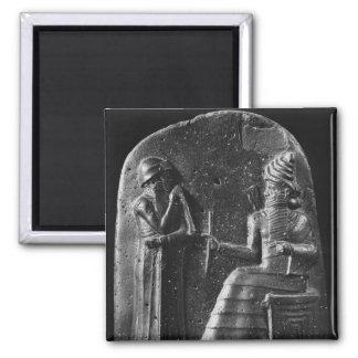 Code of Hammurabi, top of the stele Magnet