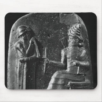 Code of Hammurabi, top of the stele Mouse Mat