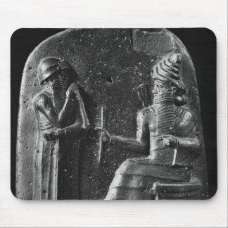 Code of Hammurabi, top of the stele Mouse Pads