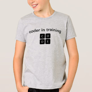 "Code.org ""Coder in Training"" - Kid's T-Shirt"