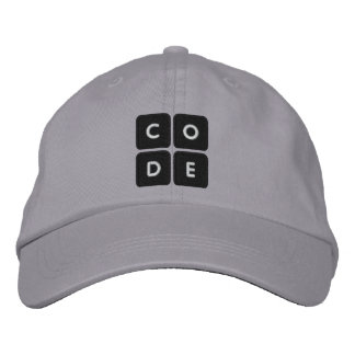 Code.org Embroidered Hat