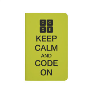 "Code.org ""Keep Calm and Code On"" Journal"