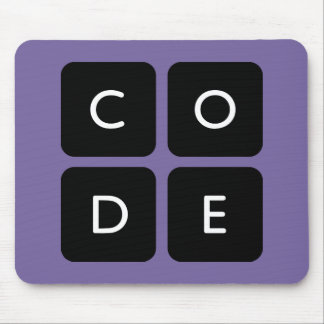 Code.org Logo Mouse Pad