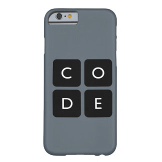 Code.org Logo phone case Barely There iPhone 6 Case