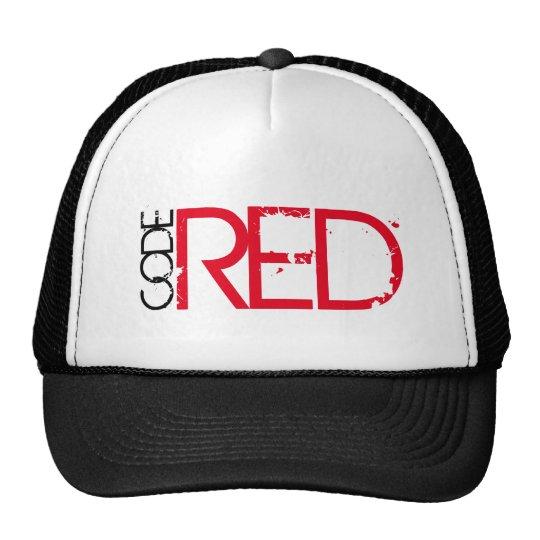 Code Red trucker hat